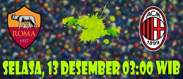 prediksi-bola-as-roma-vs-ac-milan-13-desember-2016