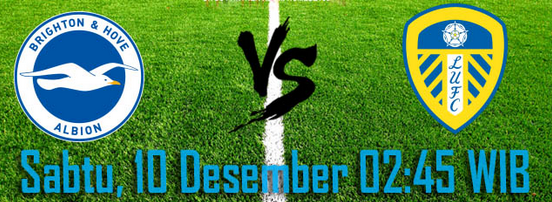 prediksi-bola-brighton-vs-leeds-united-10-desember-2016