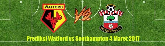 prediksi-skor-watford-vs-southampton-4-maret-2017