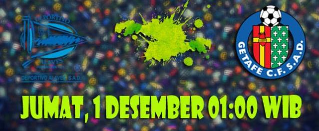 Prediksi Alaves vs Getafe 1 Desember 2017