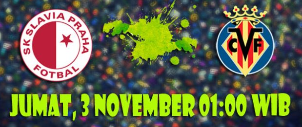 Prediksi Slavia Praha vs Villarreal 3 November 2017