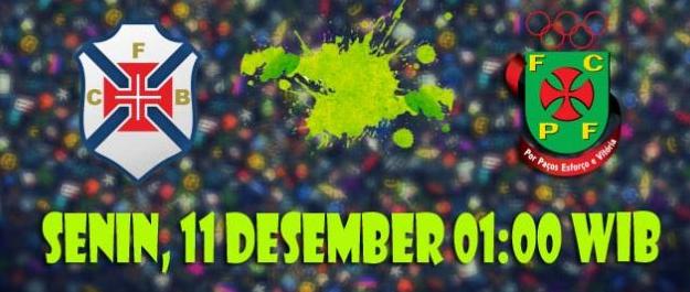Prediksi Belenenses vs Pacos de Ferreira 11 Desember 2017