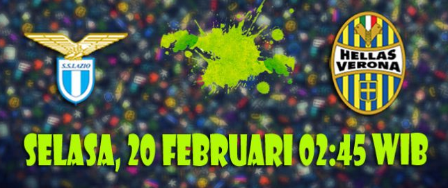 Prediksi Lazio vs Hellas Verona 20 Februari 2018