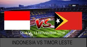 prediksi-indonesia-vs-timor-leste-13-november-2018