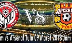 Prediksi Skor Amkar Perm vs Arsenal Tula 09 Maret 2018