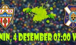 Prediksi Skor Almeria vs Tenerife 4 Desember 2017 | Agen Sbobet Online