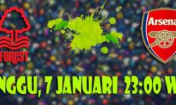 Prediksi Skor Nottingham Forest vs Arsenal 7 Januari 2018 | Situs Bola Online