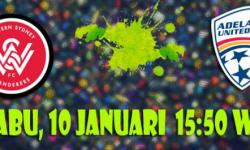 Prediksi Skor Western Sydney Wanderers vs Adelaide United 10 Januari 2018 | Situs Judi Bola