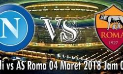 Prediksi Skor SSC Napoli vs AS Roma 04 Maret 2018
