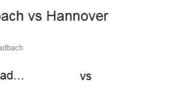 Prediksi Skor Borussia M'gladbach vs Hannover 96 30 September 2017