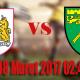 Prediksi Skor Bristol City vs Norwich City 08 Maret 2017