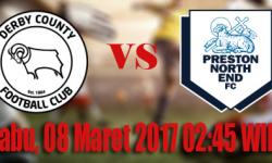 Prediksi Skor Derby County vs Preston North End 08 Maret 2017