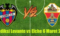 Prediksi Skor Levante vs Elche 6 Maret 2017