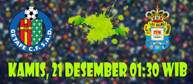 Prediksi Getafe vs Las Palmas 21 Desember 2017